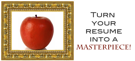 Let us paint your MasterPiece Resume